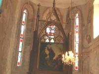 Foto mit dem Altar der Kirche-min